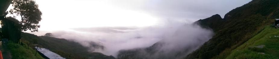 Bereits auf dem Weg nach Cuenca bot sich mir dieser unglaubliche Anblick