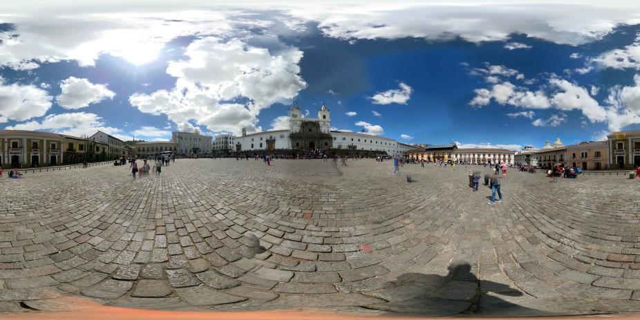 Quitos wunderschöne Altstadt